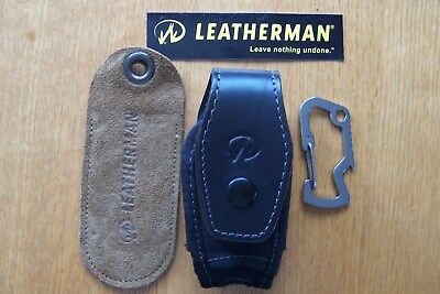 Leatherman Leather/Textile pouch for Sidekick plus Carabiner
