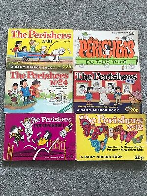 Perishers Book Collection 1969-1980