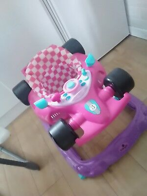 Babylo Pink Racer Walker barely used