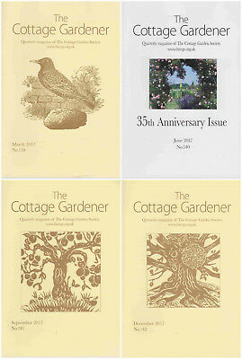 The Cottage Garden Society - CGS Gardener Magazine - 2017 Complete Year 4 Issues