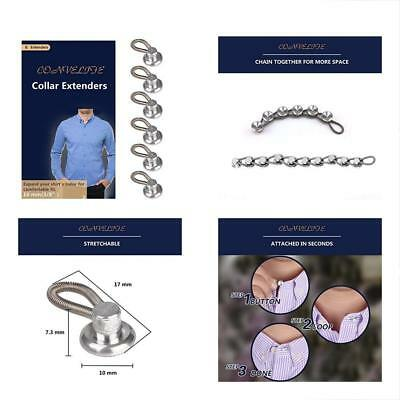 Collar Extenders Convelife Neck Extender Wonder Button F 1 2 Size Expansion Of M