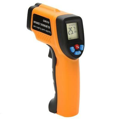 GM550 Non-contact Digital Infrared Thermometer LCD IR Laser Point Gun Meter