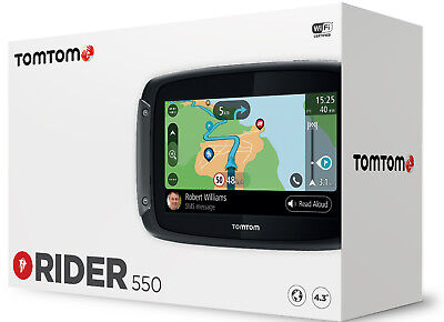 TomTom Rider 550 World Navigationssystem