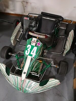Tonykart 2014 Chasis With Rotax Max Sealed Engine With Log Book