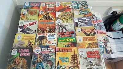 23 x Picture Library War Comics
