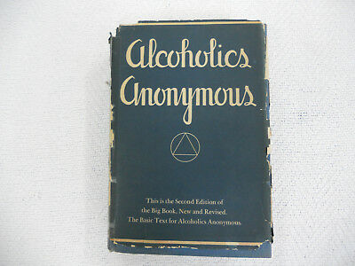 1960 Alcoholics Anonymous Big Blue Book