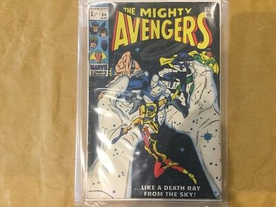 Marvel The Mighty Avengers #64 1969 Silver Age
