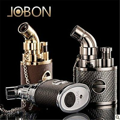 JOBON Turbo Windproof Lighter Jet Flame Lighter Blowtorch Gas Refillable Gift UK