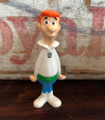 Vintage Jetsons George Jetson PVC Figure by Applause 2½in Hanna Barbera 1990