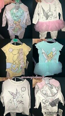 Brand New Primark Disney Tinkerbell Baby Clothing Tutu Grow Outfit 6 To Choose