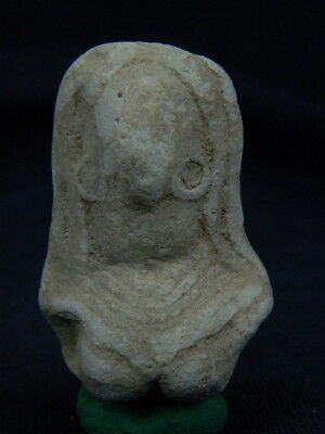 Ancient Teracotta Mother Goddess Bust Indus Valley 2000 BC NO RESERVE  #TR7985