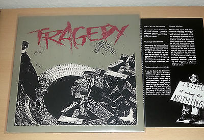 TRAGEDY - same LP [NM] OIS 1st.press 2000 SKULD 059 # Wolfpack From Ashes Rise