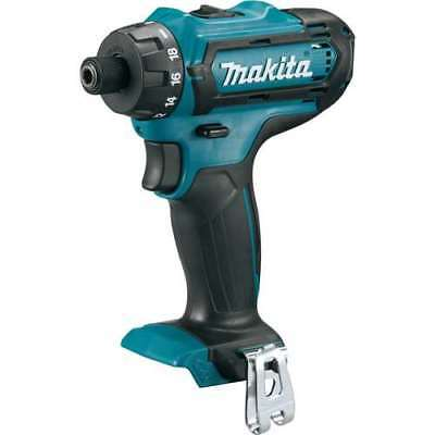 """Makita 12V Max CXT Lithium Ion Cordless 1/4"""" Hex Drill, Tool Only (Open Box)"""