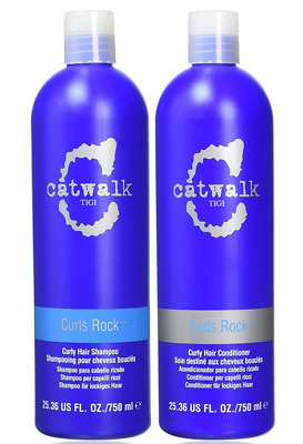 TIGI Catwalk CURLS ROCK Shampoo & Conditioner 2 X 750ml Discontinued BRAND NEW