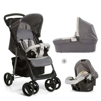 Hauck 3 in 1 Kinderwagen komplettset Shopper SLX Trio Set, inkl....