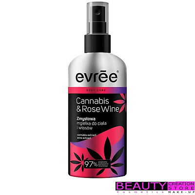 EVREE Sensual Mist For Body And Hair CANNABIS & RED WINE 100ml ER023