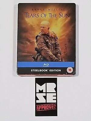 Tears of the Sun Limited Edition Blu-ray Steelbook (Import) Region Free New