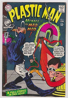 Plastic Man #6, Very Fine Condition'