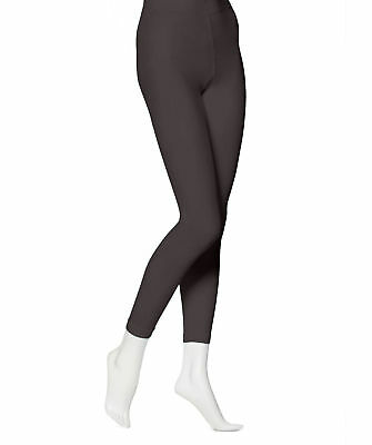 EMEM Apparel Women's Solid Colored Opaque Microfiber Footless Dance Tights