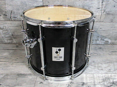 """Sonor Force 2000 14"""" Tom Erweiterung Drum Vintage Gloss Black  Made in Germany"""