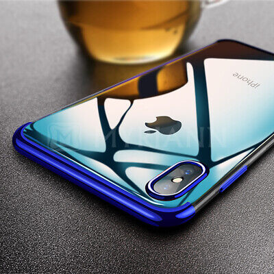 Housse Etui Coque Bumper Antichocs Case Pr Apple iPhone XS Max XR X + Verre Film