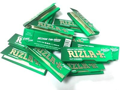 1000 Rizla Green Regular Rolling Papers 20 Bookletsx 50 Papers Each Booklet Uk