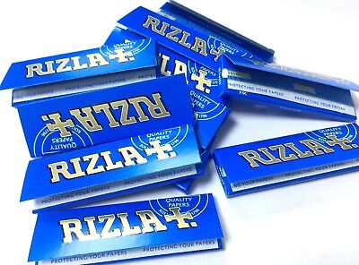 1000 Rizla Blue Regular Rolling Papers 20 Bookletsx 50 Papers Each Booklet Uk