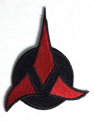 Star Trek Klingon Tri Foil Rot 7.6cm Patch-Lincoln Enterprises-Usa Maile