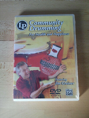 Community Drumming for Health and Happiness Lern-DVD