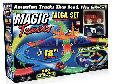 Magic tracks 18 ft 360 Pcs mega set