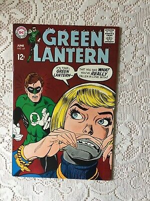 DC Comics Green Lantern # 69 1969 (VF)