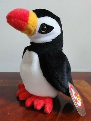 TY BEANIE BABIES BABY PUFFER the PUFFIN MWMT DOB NOVEMBER 3 1997 PVC
