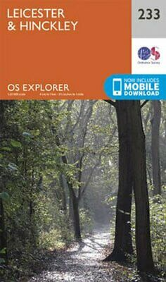 Leicester and Hinckley by Ordnance Survey 9780319244265