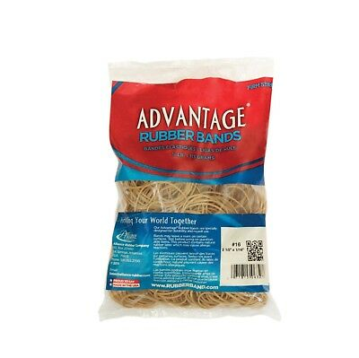 Alliance Advantage Latex Rubber Band, No 54, Assorted Size, 1/4 lb Bag, Natural