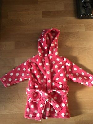 Next baby girl 12-18months Dressing Gown