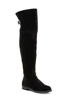 NEW Merona Women's Fashion Boots - Over The Knee  - BLACK TESSIE