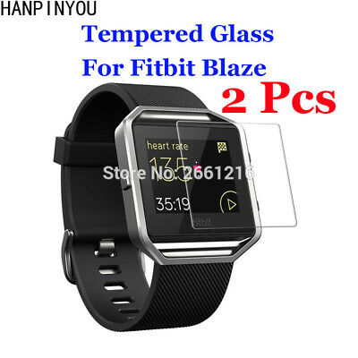 2 Pcs/Lot For Fitbit Blaze Tempered Glass 9H 2.5D Premium Screen Protector Film