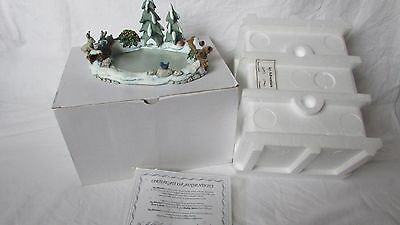 Hummel Goebel Icy adventure #1039-D first quality boxed MIB with coa