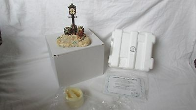 Hummel Goebel Clock tower with dog #1056-D first quality boxed MIB with coa