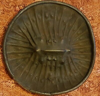 Genuine Antique Ethiopian War Shield , Tribal art.