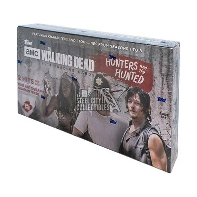 2018 Topps The Walking Dead Hunters and the Hunted Hobby Box PRESALE 11/18
