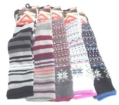 Sierra Socks Fashion Color Santa Claus Women/'s Soft  Cotton Crew Socks W162