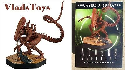 Eaglemoss 1/16 Alien & Predator Rot Xenomorph Aliens Völkermord Comic Issue 15