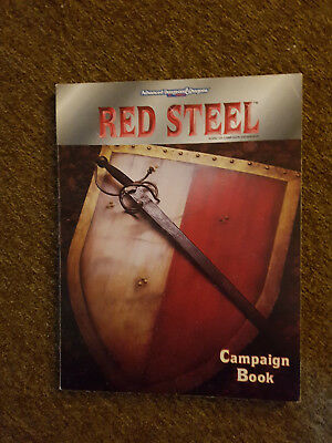 AD&D / Advanced Dungeons & Dragons - Red Steel Campaign Book -