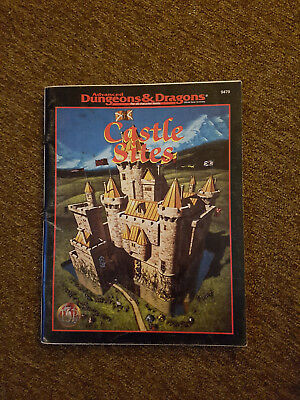 AD&D / Advanced Dungeons & Dragons - Castle Sides - TSR 9479 - äußerst selten