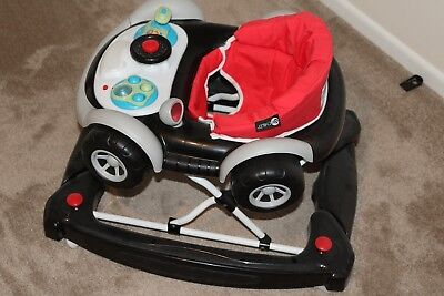 Child Coupe Walker Rocker Car Black for Kids, Children, Toddler, Baby, Boy