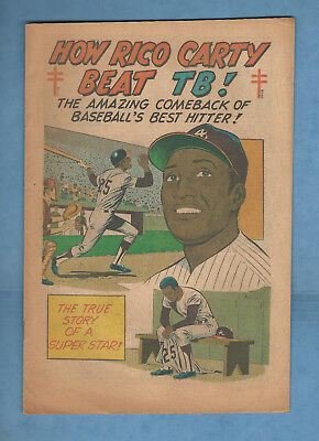 How RICO CARTY Beat Tuberculosis 1971 Atlanta Braves 16 pg color baseball comic