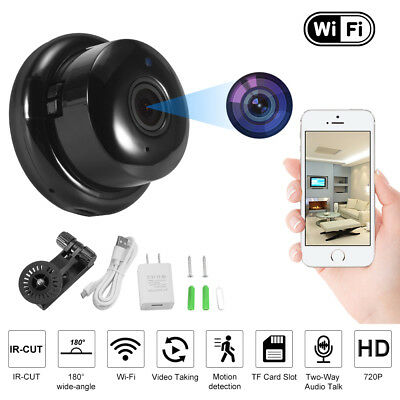 Wifi Panoramic IP Camera 720P HD Surveillance Cam with Motion Detection AH427