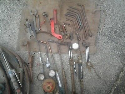 Oxy Acetylene/gas Welding and cutting gear.