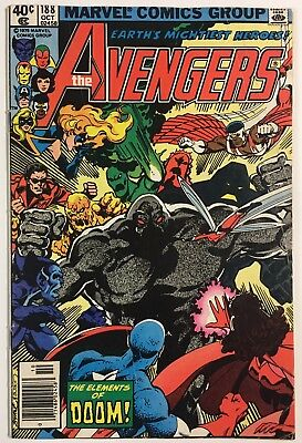 Avengers 188 (Marvel, Oct 1979) Gd/vg Low Grade Reader - Bronze Age